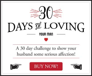 30 Days of Loving Your Man