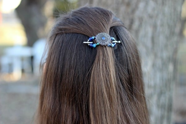 Hues of Blue Flexi Clip
