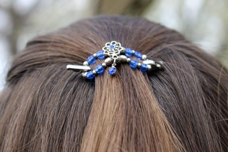 Blue Mini flexi clip