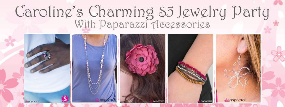Come to my Paparazzi party! Jewelry for just $5 each!