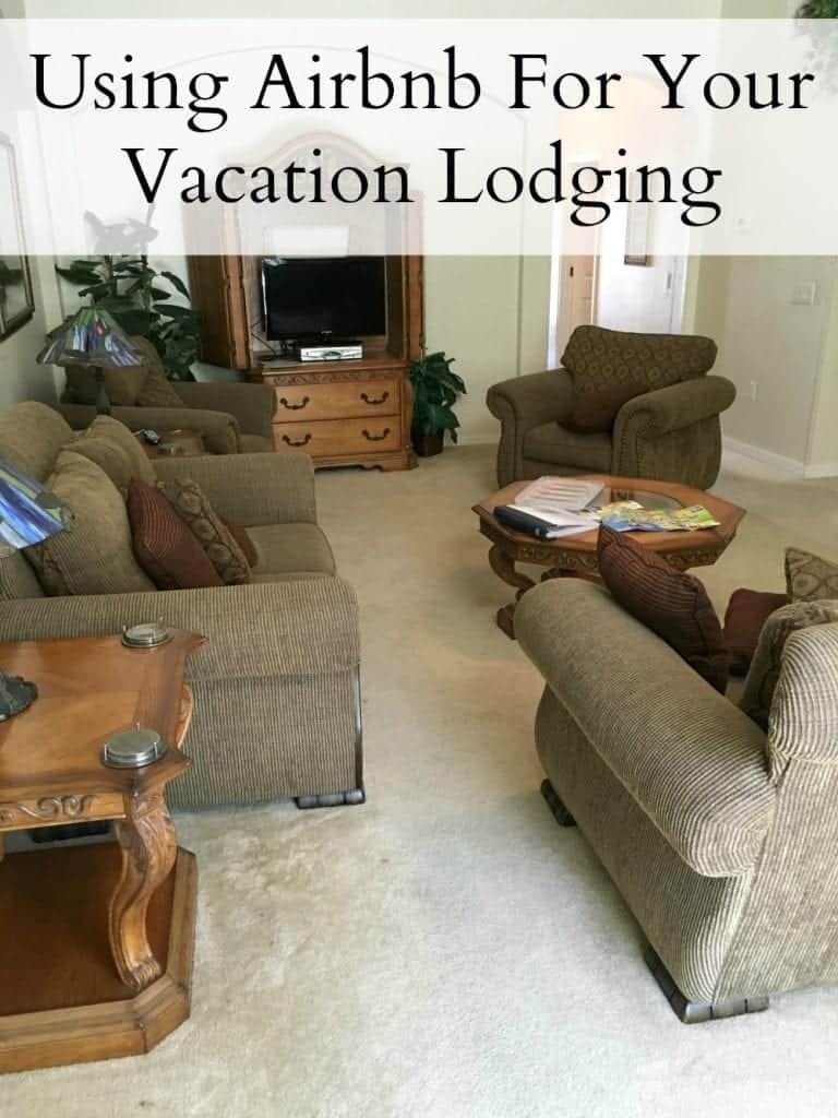 Using Airbnb for your vacation lodging needs! It's perfect for a large family wanting to travel on a budget!