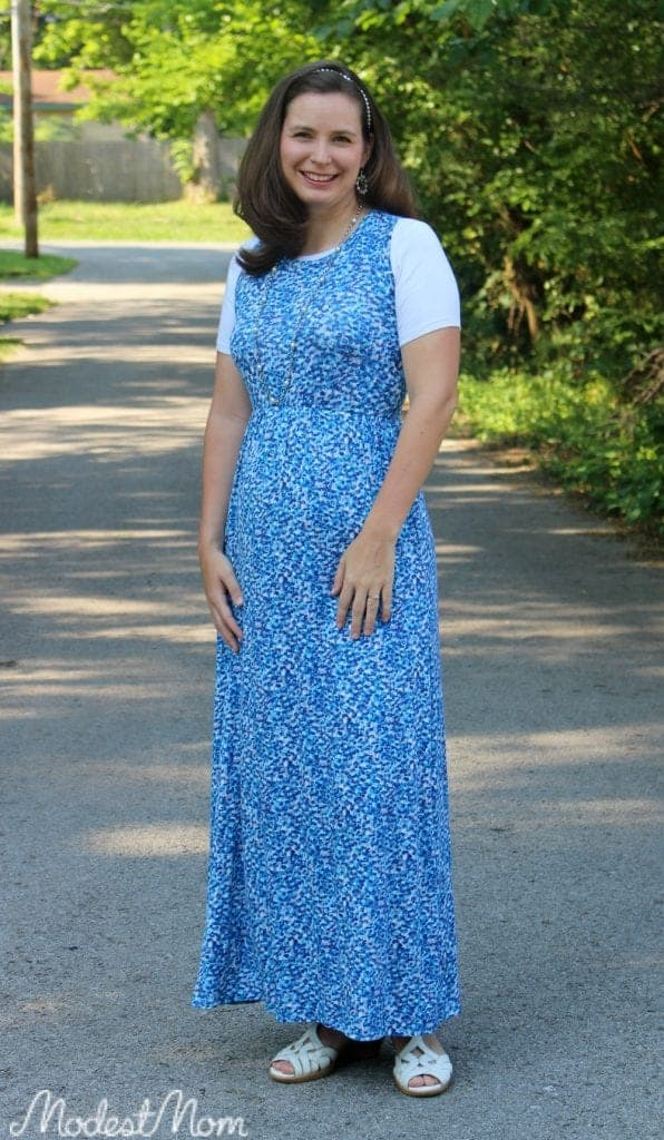 Maxi dress from Stitch Fix.