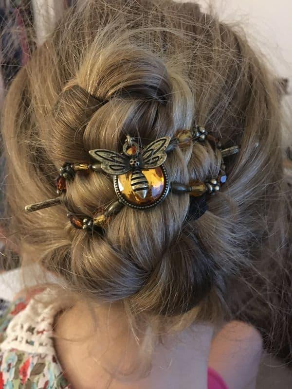Honey Bee flexi clip