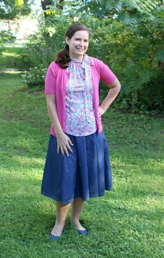 EShakti Skirt