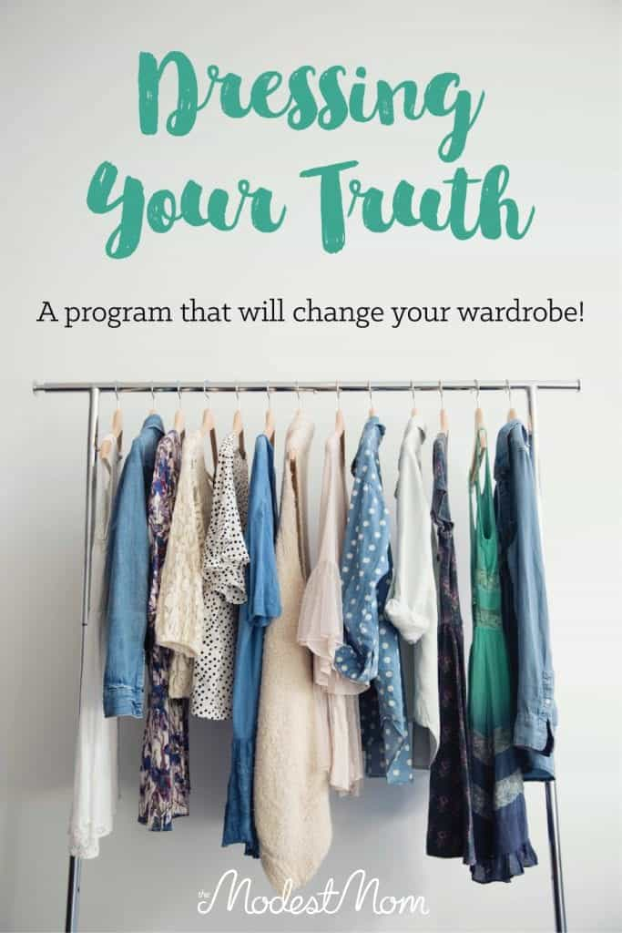 The Dressing Your Truth program will totally change your wardrobe, and help you have a closet full of clothes you adore and that look good on you!