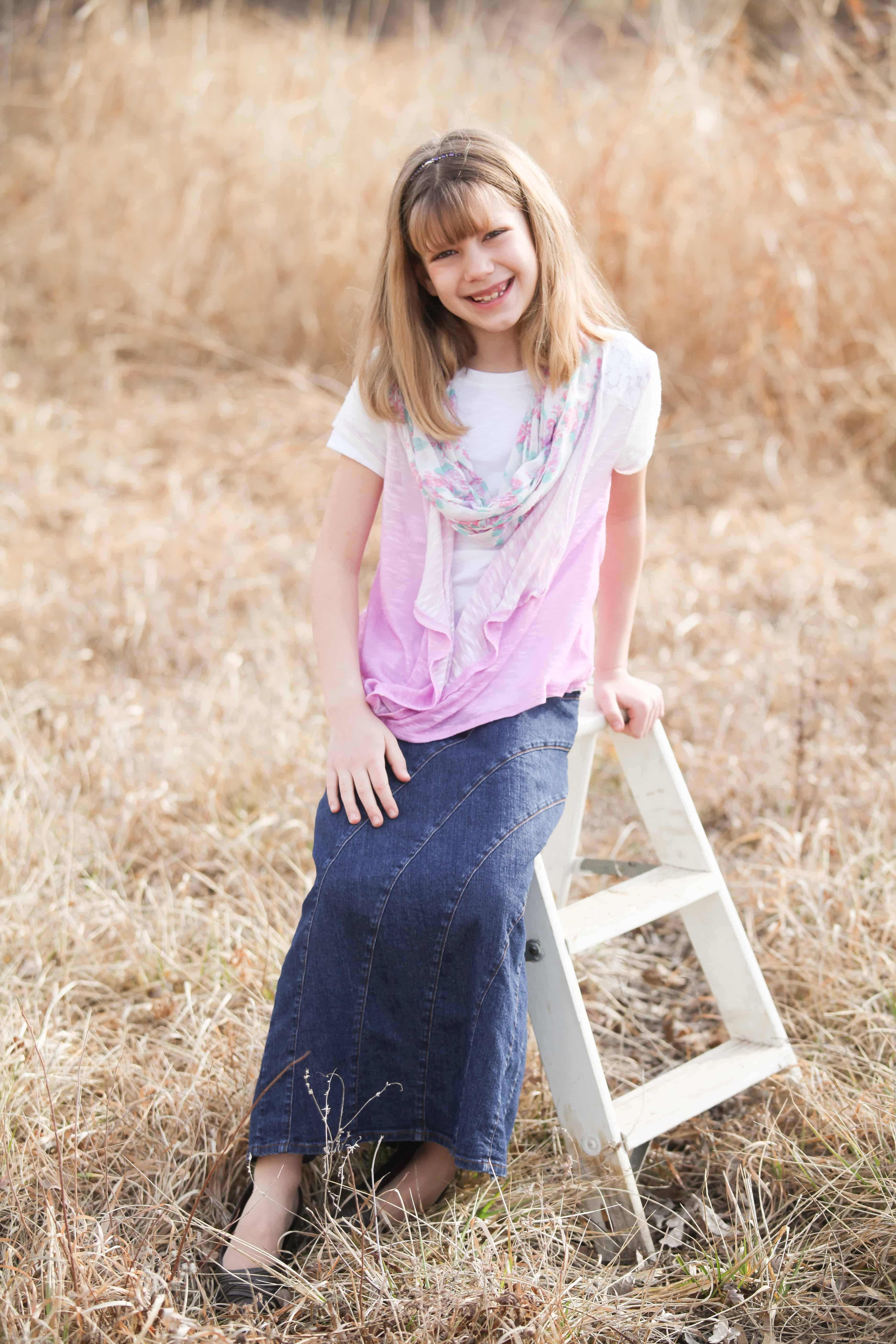 To acquire Denim Long skirt for girls pictures picture trends
