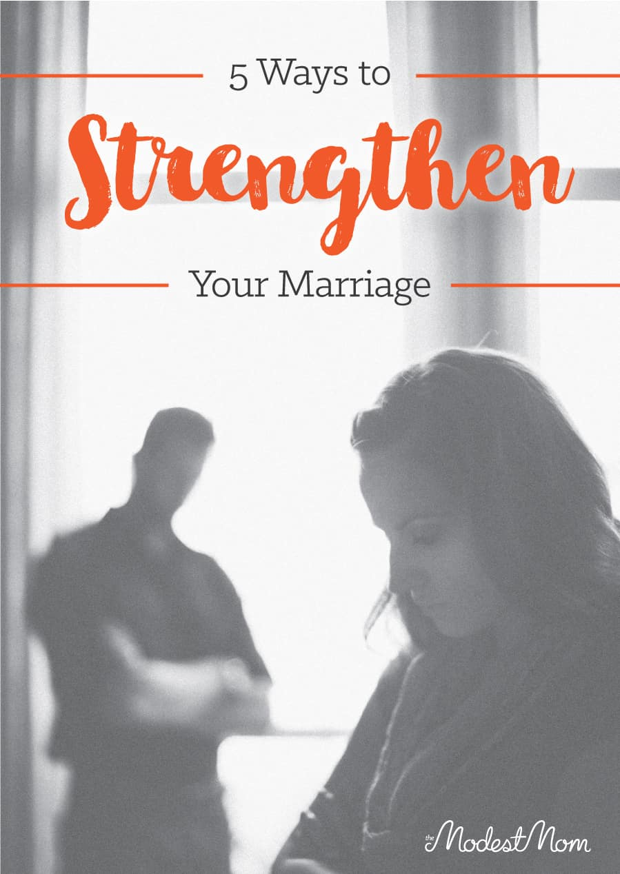 ways to strengthen marriage
