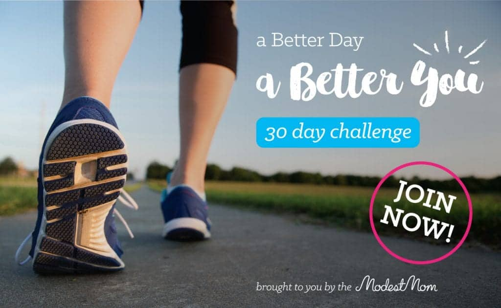 A Better You, A Better Day 30 Day Challenge