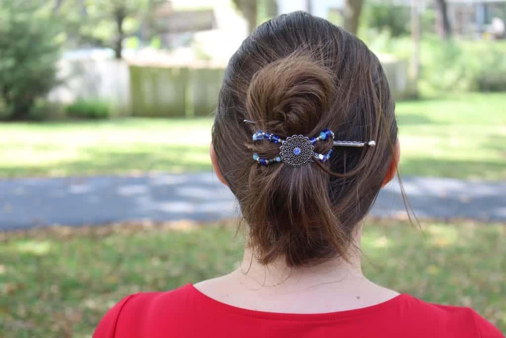 Lilla Rose Hues of Blue Flexi Clip