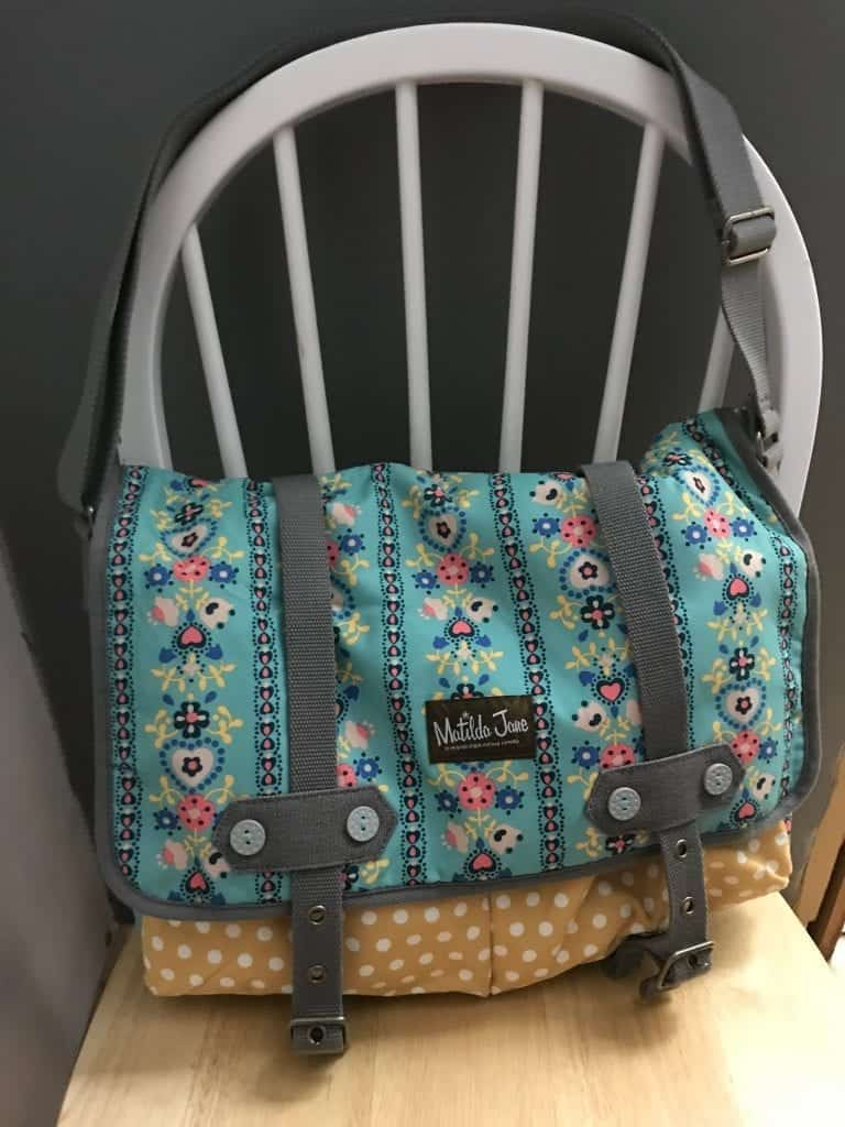 Matilda Jane Bag for quiet time bag at church.