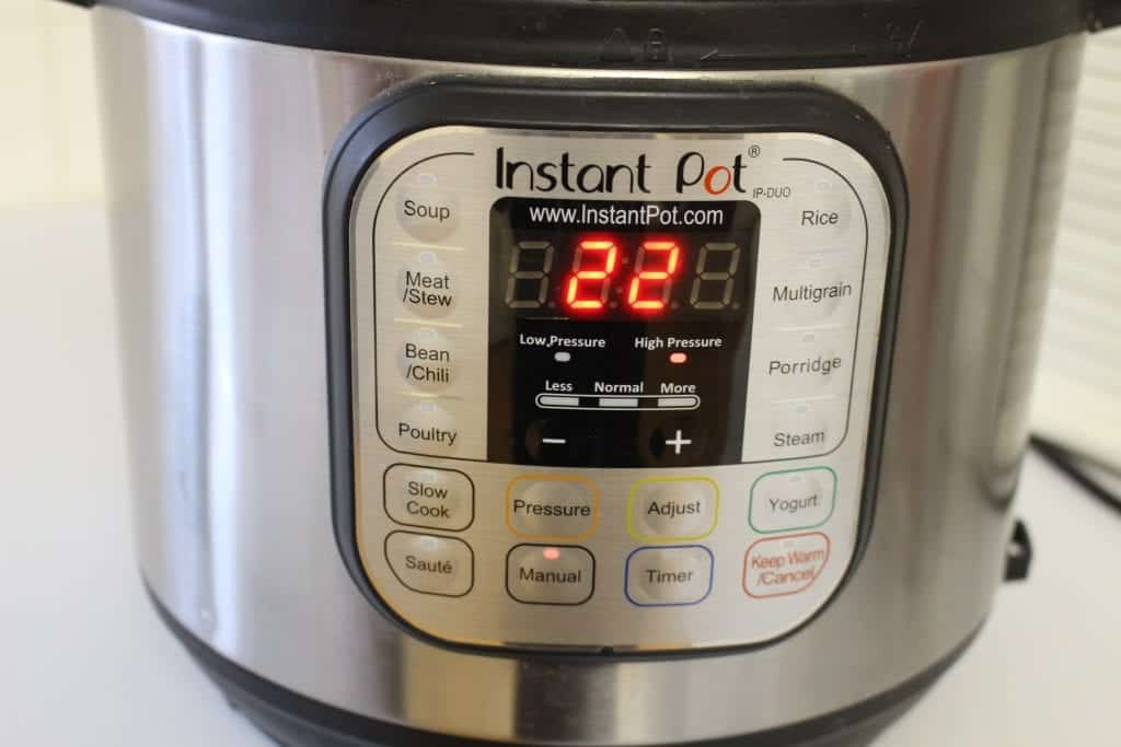 Making brown rice in the instant pot