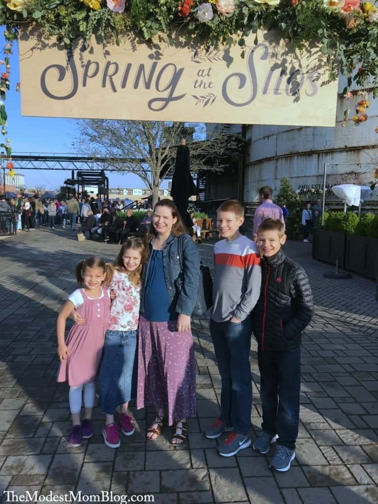 Spring at the silos!