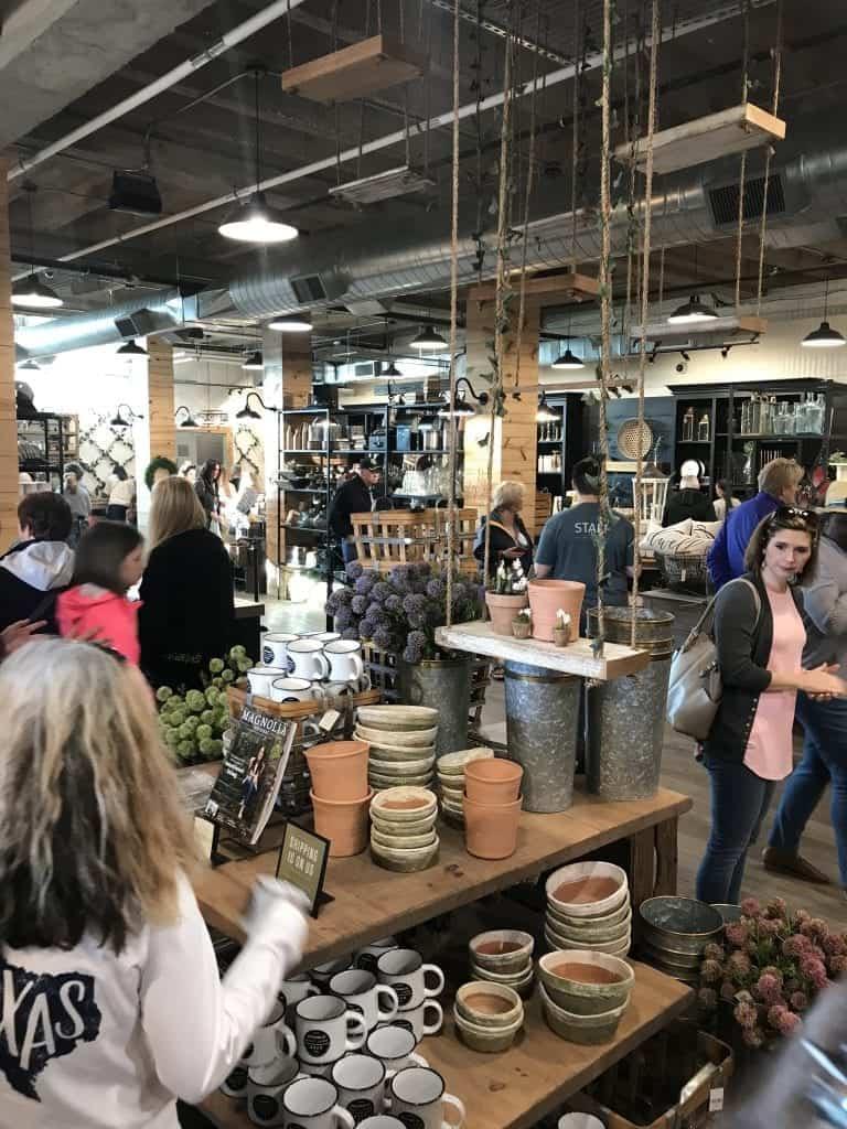 Inside the Magnolia Store