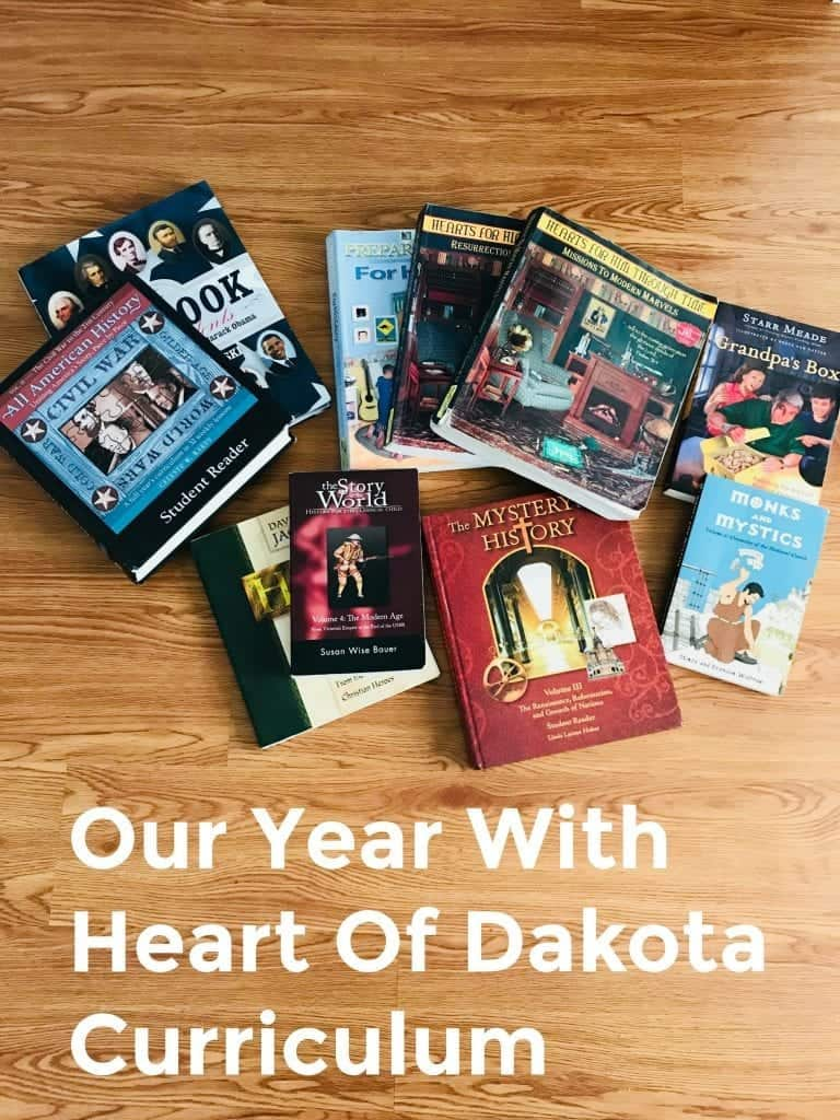 Our Year with Heart of Dakota Curriculum