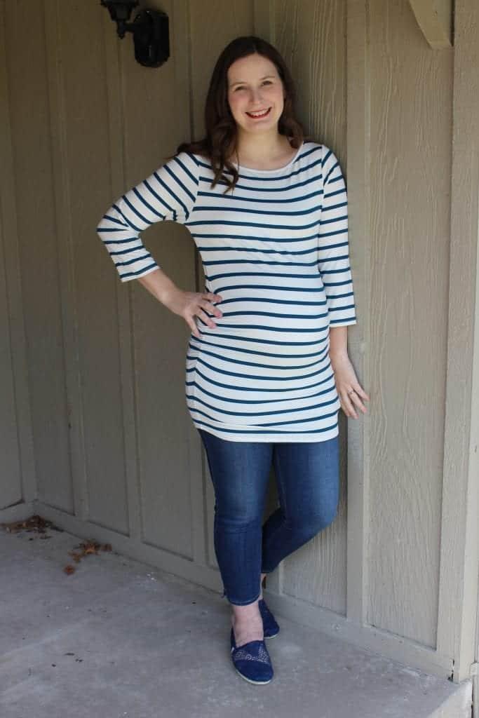 Tunic Maternity shirt from Stitch Fix