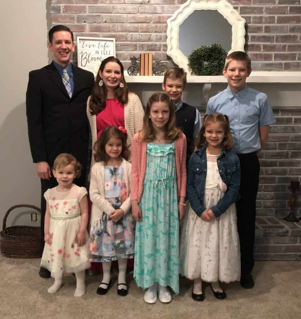 Family Easter Picture 2018