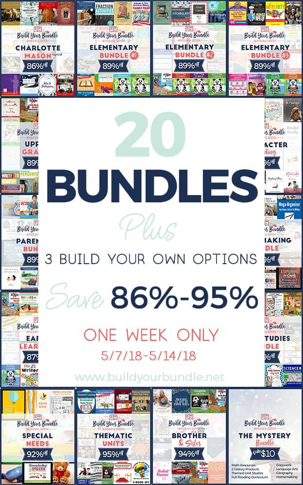 Build Your Bundle Homeschool Sale