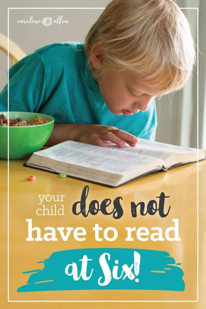Do you have a struggling reader? Rest assured, your child does not have to read in kindergarten! Learning in elementary school, like first grade is how we raise our homeschool students, and love using resources like All About Reading!