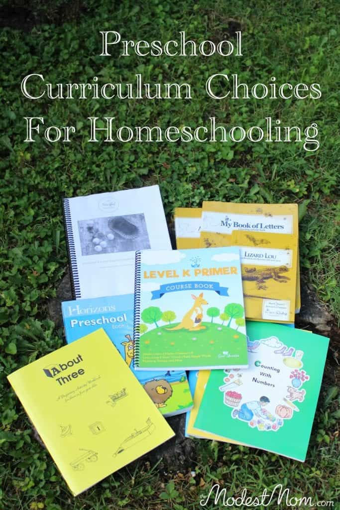 You can homeschool preschool! A round up post on curriculum choices for preschool to make it enjoyable and fun!