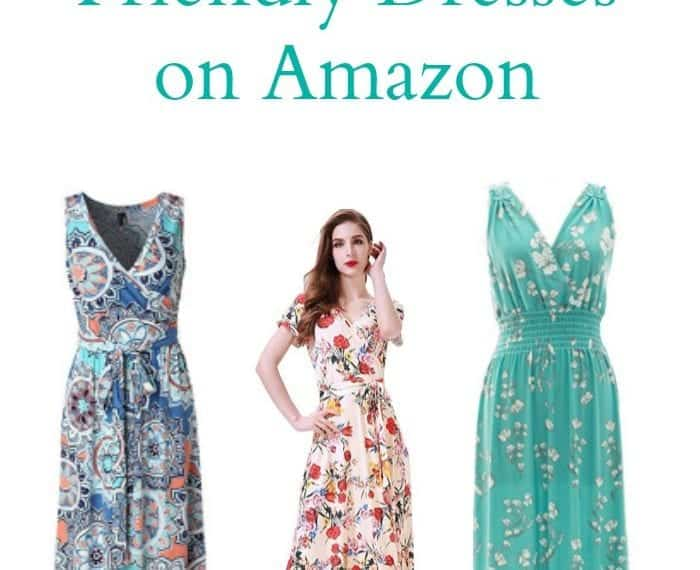 Breastfeeding Friendly Dresses on Amazon.