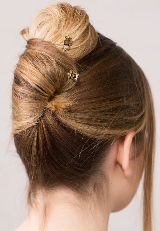 Twist with bobby pins | Hairstyles for Long Hair | Hairstyles for medium length hair | bun hairstyle | fall hair | fall hairstyle | Lilla Rose | Flexi Clip | Hair updo | Hair Clip for thick hair | Hair clip for thin hair