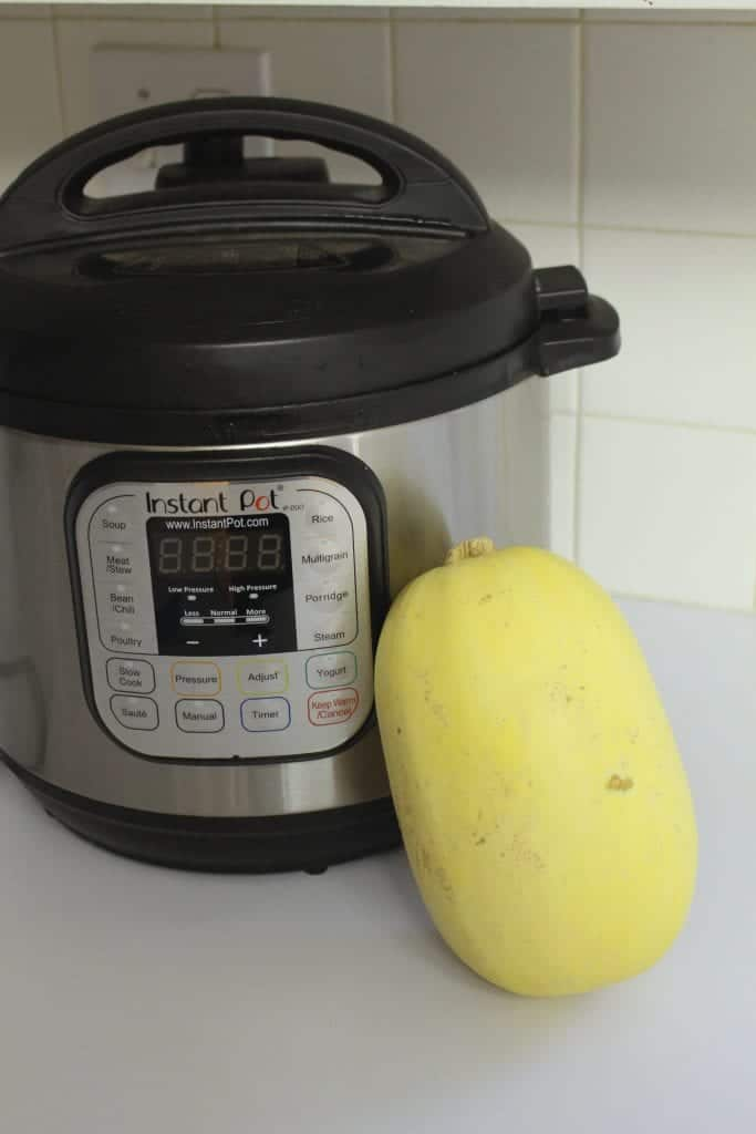 How to cook Spaghetti squash in the Instant Pot - super easy and fast!